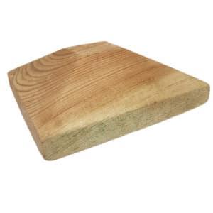 Pfostenkappe aus Holz für Pfosten 11 x 11 cm