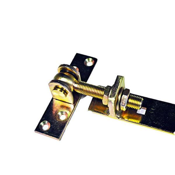 Ladenbänder-einstellbar-gelb-verzinkt-Detail