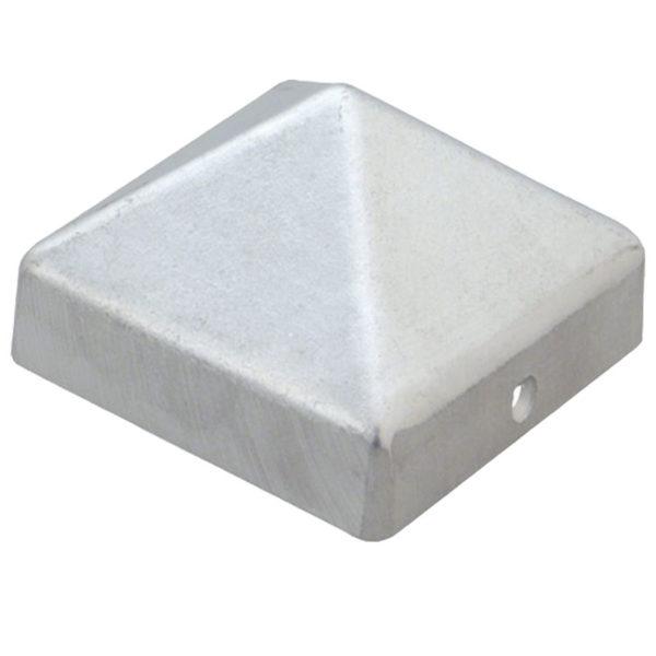 Pfostenkappe Aluminium Blank