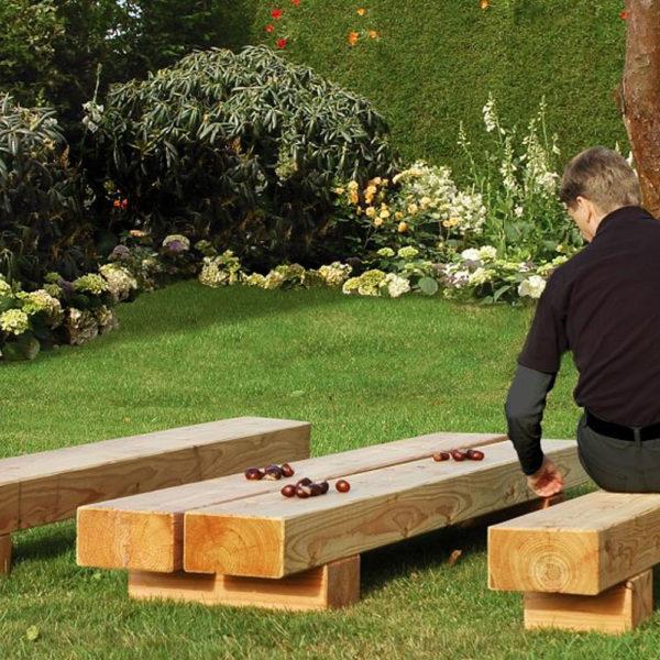 Gartenschwellen-aus-Lärche-Sitzbank