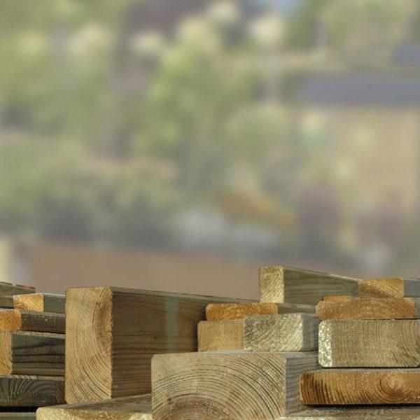 Kantholz gehobelt Kiefer kdi kesseldruckimpraegniert