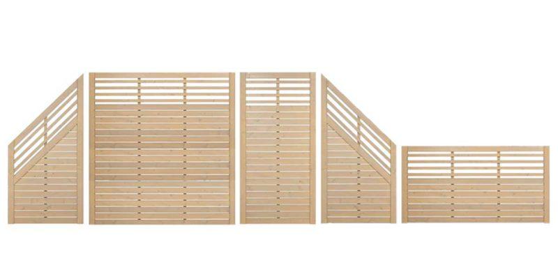 Zaunserie-Horizon-offen-mit-Gitter-gestaltet