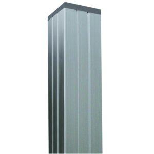 Aluminium-Pfosten-Silber