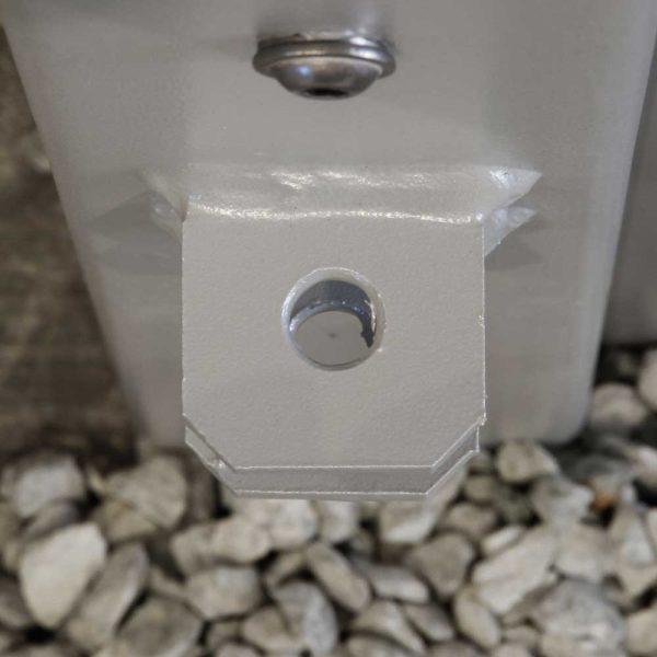 Torpfosten-Set-für-Einzeltore-silber