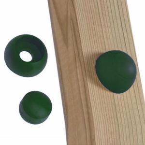 Schraubenabdeckung für Spielturm grün