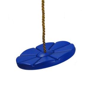 Tellerschaukel aus Kunststoff blau