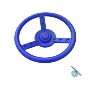 Lenkrad-blau