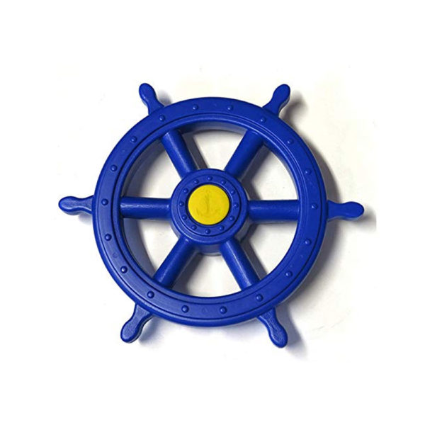 Piraten-Steuerrad-blau