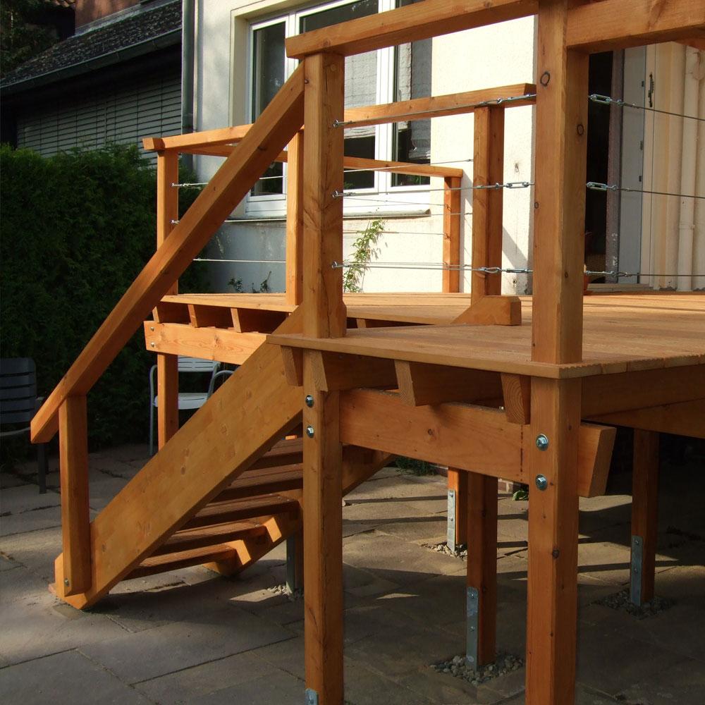 Outdoor Treppe   Einfach selber bauen mit unseren Empfehlungen