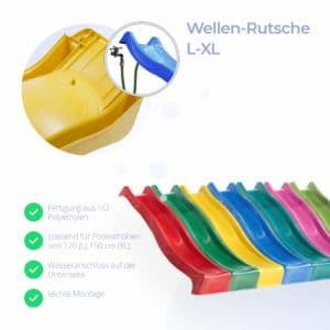 Wellenrutsche L-XL