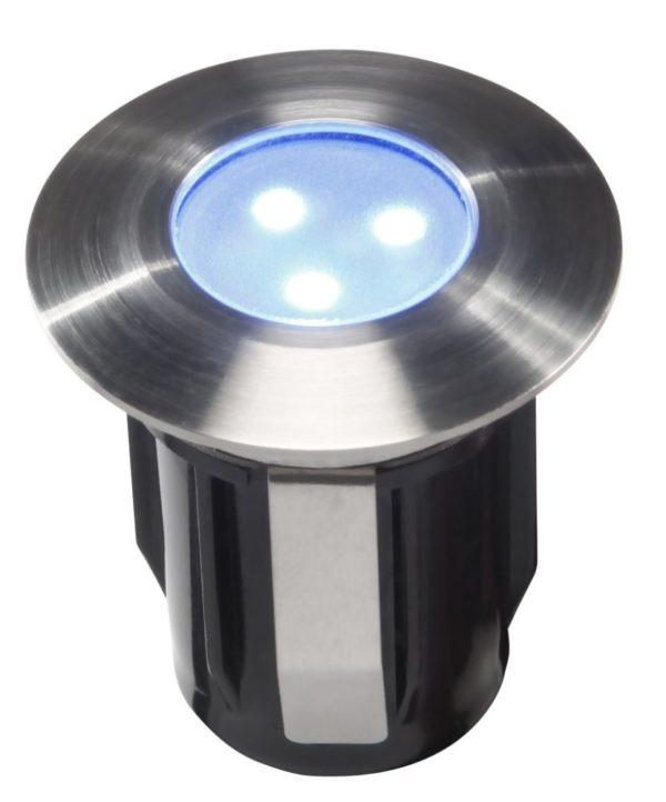 LED Bodeneinbauleuchte Alpha blau