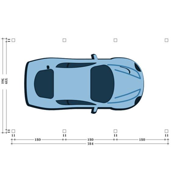 Carport Stuttart Typ 1