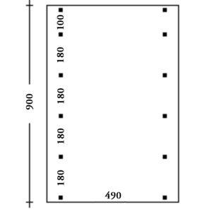 Carport Muenchen Pfostenplan Typ 4