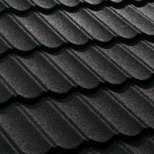 Decra-Dach-Classic-brillantschwarz