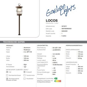 LED Standleuchte Locos