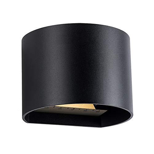 LED-Wandleuchte-Goura-schwarz