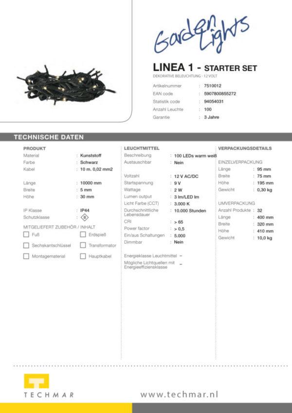 LED Dekorationsleuchte Linea