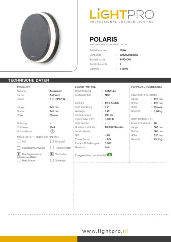 Lightpro-LED-Wandleuchte-Polaris