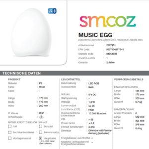 Smooz Music Egg