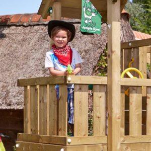 Spielturm Cubby mit Balkon