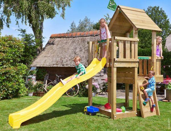 Spielturm Cubby mit Rutsche