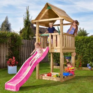 Spielturm House mit Rutsche