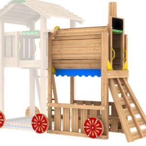 Spielturmerweiterung Train Module