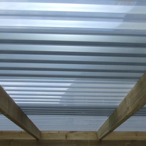 Dacheindeckung Sunstop - Hitzeschutz Dachplatten