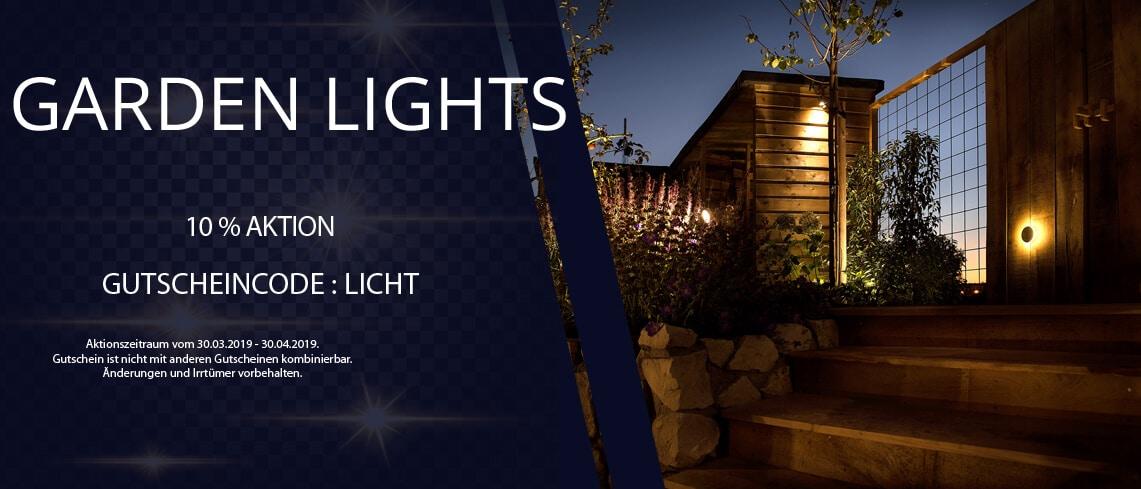 Gardenlights-Gutschein