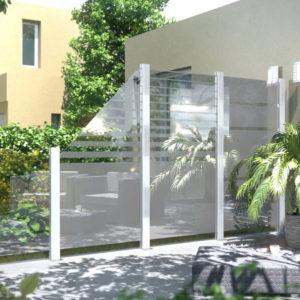 Zäune aus Glas
