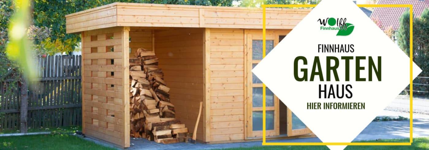 Finnhaus Blockhaus online bestellen