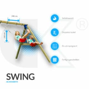 Blue Rabbit@ Swing Modul Anbauschaukel-3