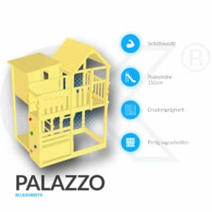 Kletterturm Palazzo