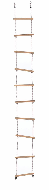 Strickleiter aus Holz 350 cm lang mit 10 Sprossen
