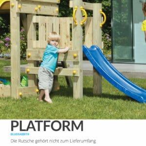 @Platform Blue Rabbit Anbaupodest Kletterturm
