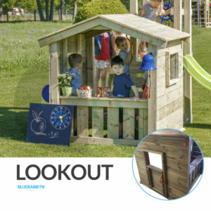Blue Rabbit Spielturm Lookout