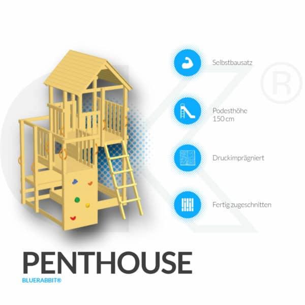 Blue Rabbit Spielturm Penthouse