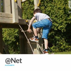 Kletternetz @Net von Blue Rabbit