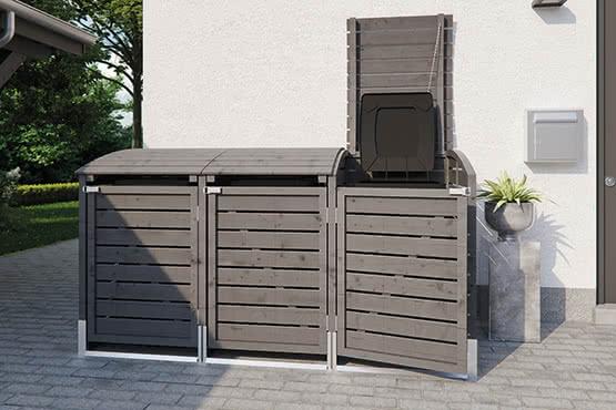 Müllbox Trio